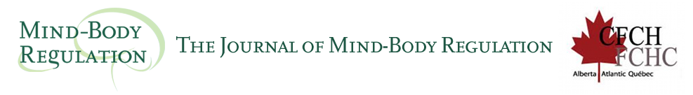 The Journal of Mind-Body Regulation