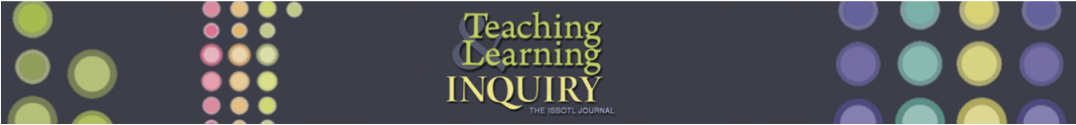 Teaching & Learning Inquiry cover image