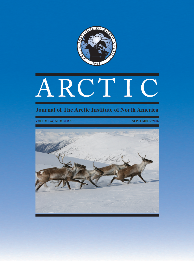 Cover image Arctic 69(3)