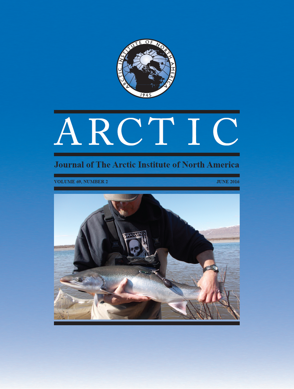 Cover image Arctic 69(2)