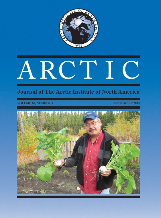 Arctic September 2015 68(3)